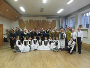 2015 m. Asociacijos šokio mokytojos pagerbimas